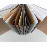 PVC台所紫外線高い光沢のあるシートの木製の穀物の装飾的なシート