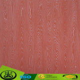 Papel decorativo de la melamina de madera del grano con precio barato