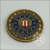 Soft Enamel Logo Coin (GZHY-YB-004)の軍のArmy