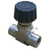 Válvula de regulamento para o injetor de pulverizador eletrostático