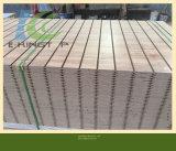 MDF del papel de la melamina de la ranura 18m m