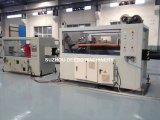Chaîne de production de pipe de PVC du PE pp de PPR, ligne en plastique d'extrusion de pipe