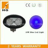 10W Luz de emergencia de la carretilla elevadora Luz de trabajo del LED Luz de advertencia del punto azul