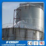 Il pollame alimenta il silo di memoria delle palline/costo d'acciaio del silo