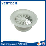Diffuseur rond de remous d'air de faisceau amovible pour l'usage de ventilation
