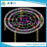 Алюминиевая ферменная конструкция круга для освещения и украшения