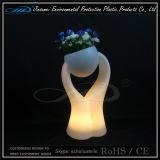 바 가구의 LED 화분