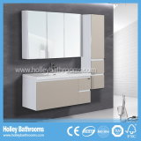 Hot Light Lacquer Modern Style Furniture Vanité de salle de bain (BF130M)