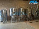 Depósito de fermentación cónico brillante sanitario de la fermentadora de la cerveza (ACE-FJG-1B)