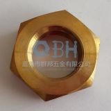 Porcas finas hexagonais (chanfrado, 04, 05 ISO4035,)