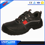 De Schoenen Ufa074 van de Veiligheid van het Leer van de Neus van het Staal van mensen