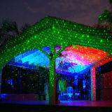 Luz ao ar livre resistente fria da estrela do laser da luz de Natal