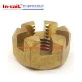 모자 견과, 감금소 견과, 얇은 정연한 견과, 아연에 의하여 도금되는 강철을%s 가진 날개 견과
