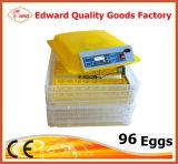 セリウムの公認の最も新しい自動小型卵の定温器(EW-96)