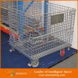Maschendraht-Lager-Rahmen-Behälter