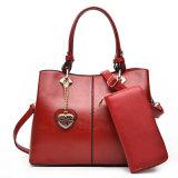 Da carteira de couro 2 da bolsa do plutônio bolsa ajustada do desenhador do saco da senhora ombro da forma do PCS