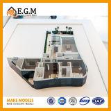 O modelo o mais requintado e o mais bonito do apartamento/o modelo/interior da unidade modelam o modelo modelo de /Apartment dos modelos/unidade de /Scene