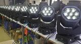 Wäsche Pointe der Leistungs-7*15W 4in1 RGBW Minides träger-LED beweglicher Kopf