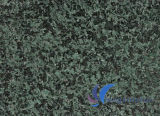 G612自然な磨かれたカスタマイズされた緑の花こう岩のタイル