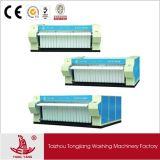 El equipo de lavadero doble de los rodillos/el lavadero automático de Flatwork cubre Ironer