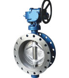 Api 609/Awwa Vatac Cast Steel & Iron Wafer/Flanged Butterfly Valve