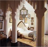 غرفة نوم نحاس أصفر زخرفيّة كلاسيكيّة يعلّب ضوء ([ك007-330])
