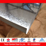 Chapas de aço revestidas laminadas 120G/M2 do zinco de Dx51d