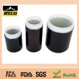Caja plástica del alimento del caramelo del HDPE negro hermoso del color usada como paquete del alimento…
