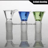 Vidro masculino das bacias do cachimbo de água no vidro preço de fábrica das cores da mistura do tamanho de 18mm ou de 14mm!