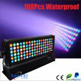 옥외 IP65 Light 108*3W RGBW Brightness LED Wall Washer