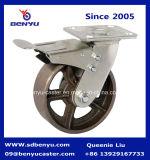 Hochleistungsschwenker-Fußrollen-Roheisen-Rad
