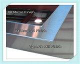 201 304 het Spiegel Geëtstes Blad van het Roestvrij staal van de Decoratie van het Titanium