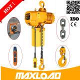 100 kg de 1ton Mini polipasto eléctrico de cadena y mini alzamiento eléctrico