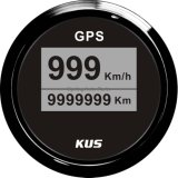 "2 "" Marine Car Truckのための52mm DIGITAL GPS Speedometer Velometer 0-999km/H"