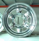 Оправа 15X8 колеса хромовой стали трейлера