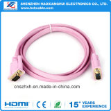 3D를 가진 Version1.4 Flat Gold Plated HDMI Cable