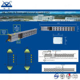 Des Aluminium-16 Stromstoss-schützende Einheit Kontaktbuchse-Energien-Netz-des Signal-RJ45
