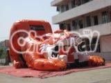 Inflable de diapositivas en seco Tigre inflable de diapositivas