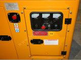 パーキンズエンジンの携帯用無声力のディーゼル発電機セット(GF3-24P)との24kw 30kVA