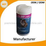 Wipes naturali di pulizia dell'animale domestico di formula dell'animale domestico 70PCS