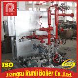 強制-電気暖房が付いている循環水管オイルのボイラー