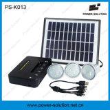 電話充満を用いる修飾された4W太陽電池パネル3PCS 1W SMD LEDの球根太陽キットのホーム照明(PS-K013)