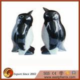 Скульптура животного камня гранита Shanxi черная