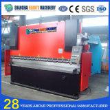 Wc67y CNC-hydraulische Stahlplatten-faltende Maschine