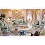 Mobília da sala de visitas com o sofá de madeira ajustado (503A)