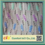 Tissu 100% de tricotage de jacquard de polyester
