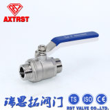 2PC Edelstahl Floating M/F Thread Ball Valve