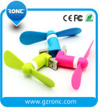 Вентилятор /Flexible портативного миниого вентилятора USB микро- электрический для Android мобильного телефона