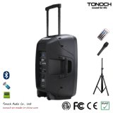Battery를 가진 좋은 Quality 15 Inches Plastic Trolley PRO Audio