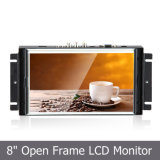 "8 "" Medical/POS Application를 위한 열려있는 Frame Industrial Touch Monitor"